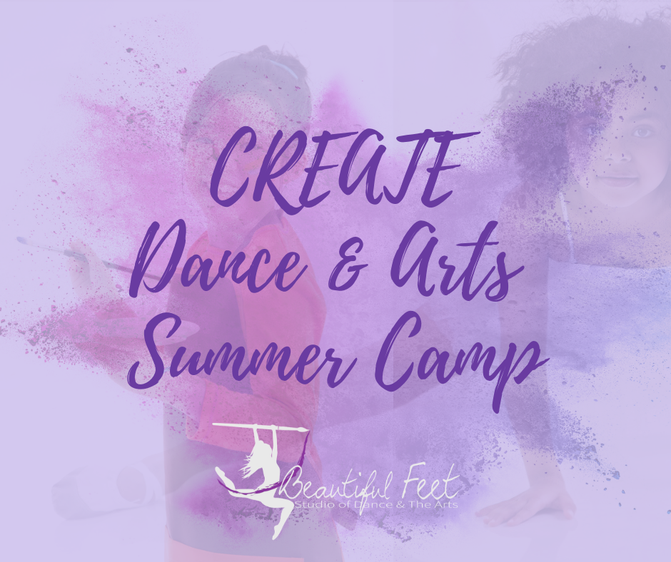 CREATE Camp #1 Lyrical Dance & Watercolor Painting