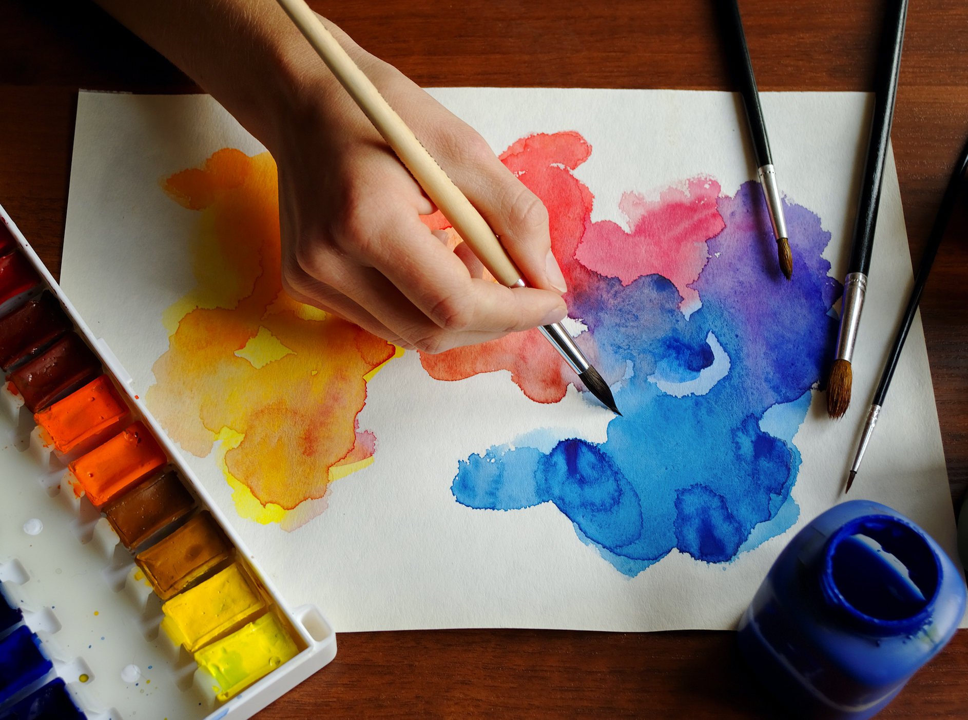 Watercolor Workshop for Ages 8-10