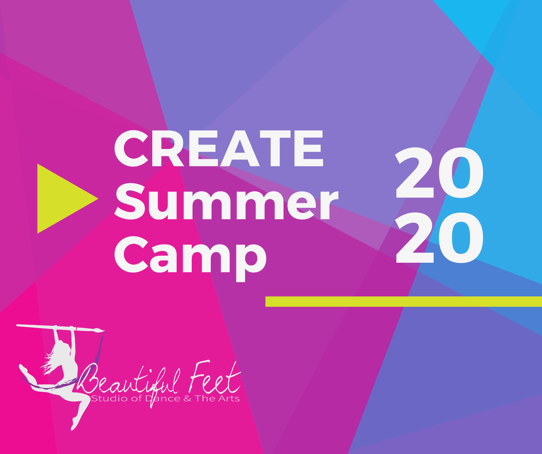CREATE Camp Ages 6-12: Lyrical Dance & Watercolor Painting