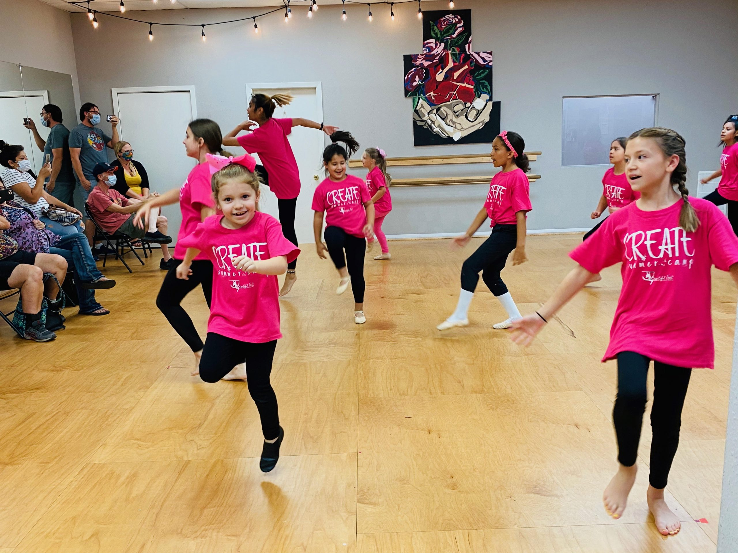 CREATE Jazz Dance, Musical Theater, & Painting Camp (Ages 6-12)