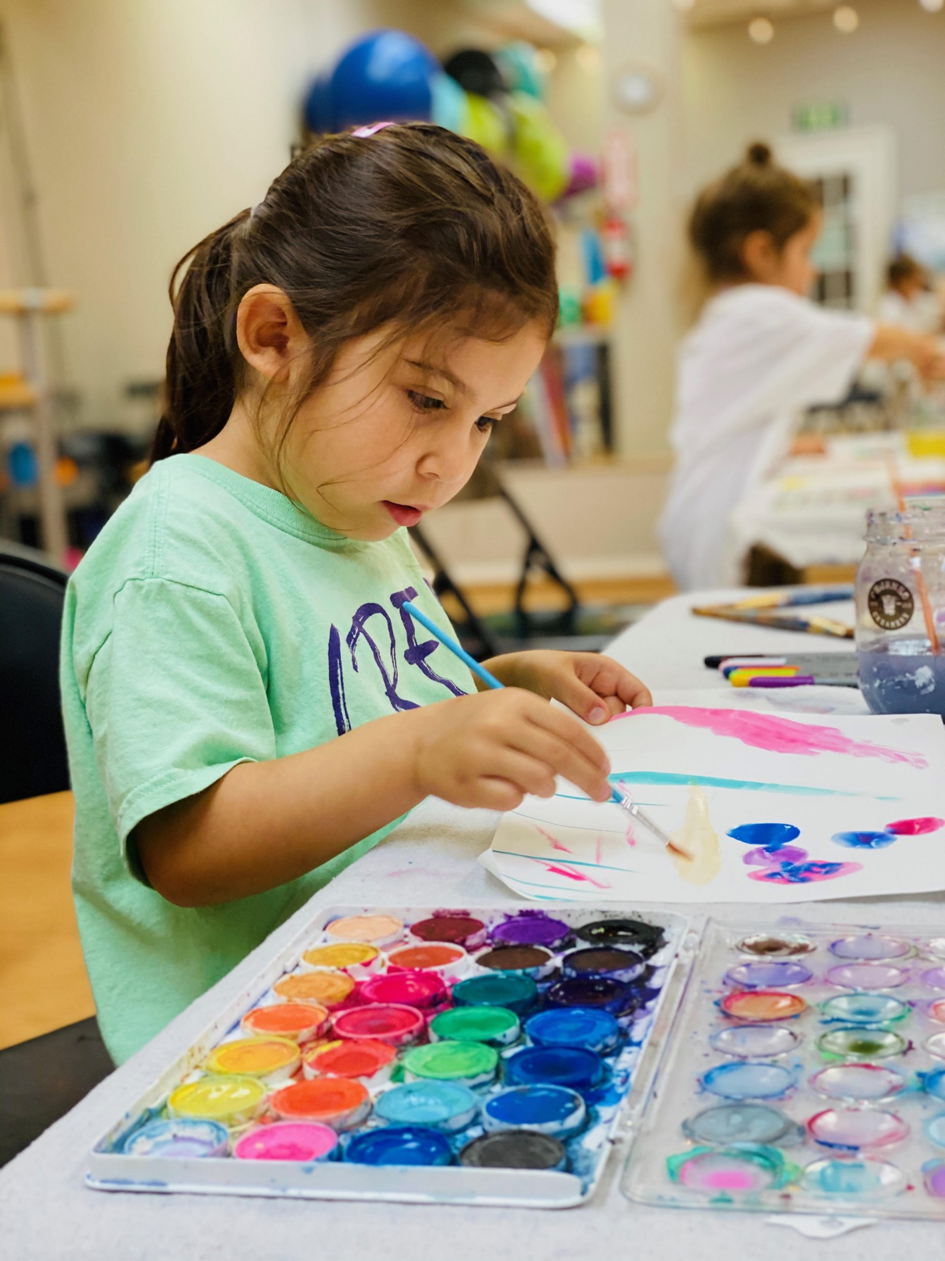 Mini-CREATE Jazz Dance & Painting Camp (Ages 4-5)