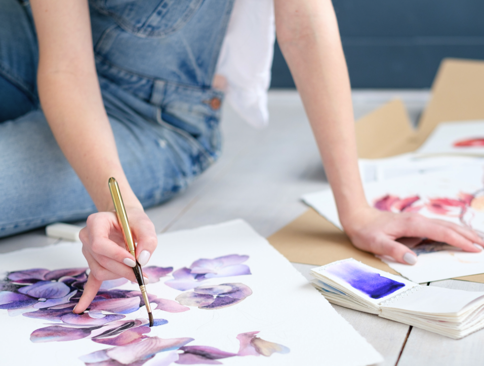 ART Watercolor Camp (Ages 13+)